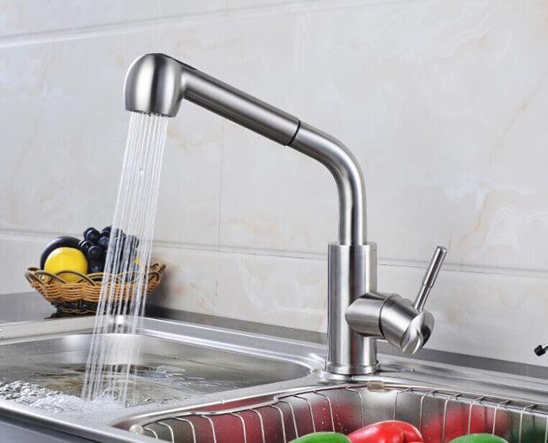 Cách tháo vòi nước rửa bát và các sự cố thường gặp