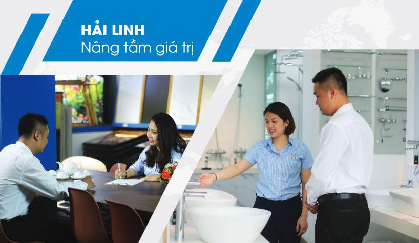 Showroom thiet bi ve sinh Hai Linh