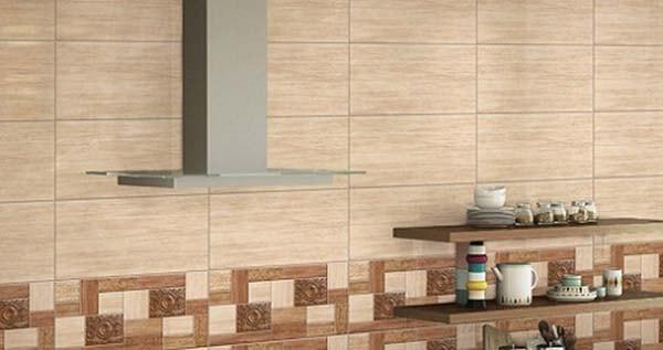 Chọn gạch ốp tường tương phản với gạch lát nền