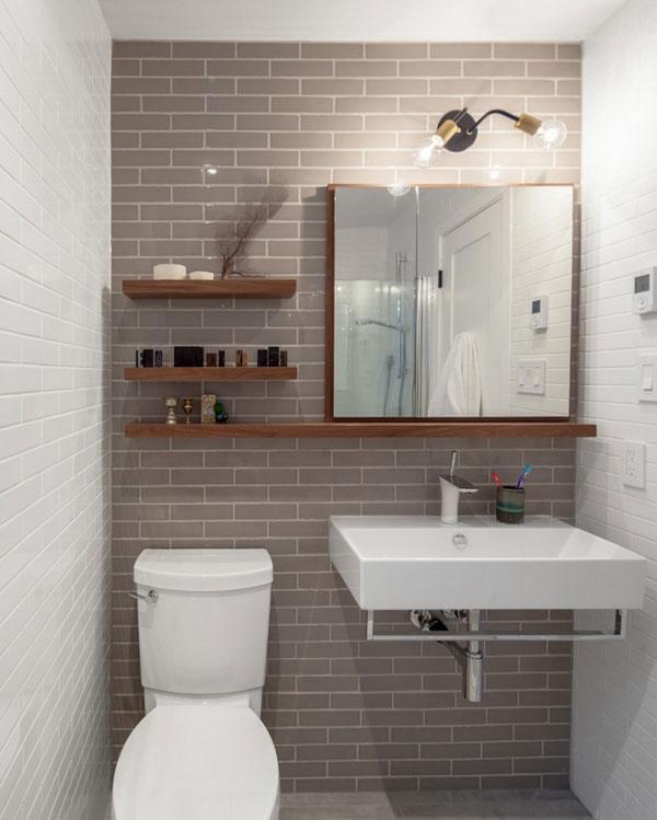 Nên hay không nên bố trí sen tắm cây cho phòng tắm nhỏ